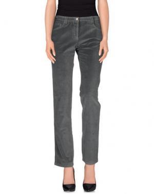 Повседневные брюки PONY. Цвет: свинцово-серый