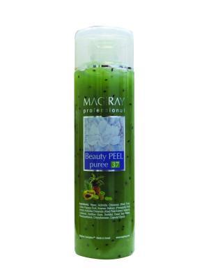 Скраб маска очищающая Beauty puree Peel Magiray Cosmetics. Цвет: зеленый
