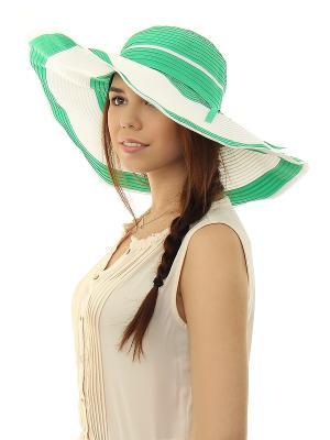 Шляпа Migura. Цвет: зеленый, белый