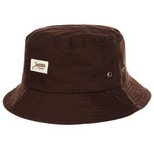 Панама  Ditch Classics Brown Запорожец. Цвет: коричневый