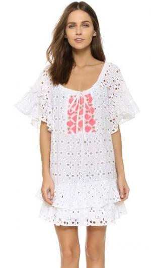 Пляжное платье Romy SUNDRESS. Цвет: розовый