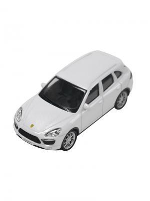 Машинка Porsche Cayenne Turbo, Белая (1:43) (PS-444012-W) Pit Stop. Цвет: белый