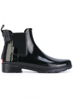 Ботинки Челси Hunter. Цвет: чёрный
