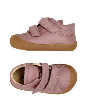 Низкие кеды и кроссовки NATURINO. Цвет: розовато-лиловый