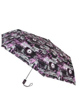 Зонты Vogue.. Цвет: черный, светло-серый, сиреневый