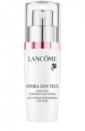 Крем для кожи вокруг глаз Hydra Zen Crème Yeux Lancome. Цвет: бесцветный