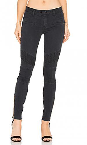Узкие мото джинсы crawford DL1961. Цвет: none