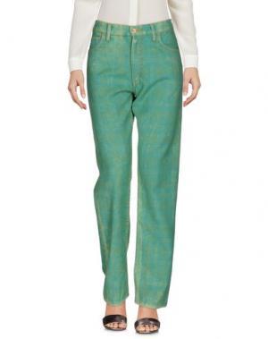 Повседневные брюки JUNYA WATANABE COMME DES GARÇONS. Цвет: зеленый