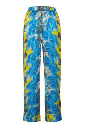Пижамные брюки с принтом Romance Was Born. Цвет: none