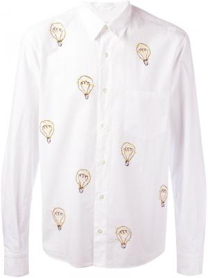 Рубашка Bulb Jimi Roos. Цвет: белый