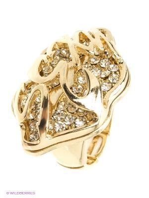 Кольцо AVGAD. Цвет: золотистый