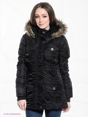 Куртка FOREVER18. Цвет: черный
