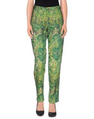 Повседневные брюки NICHOL JUDD. Цвет: зеленый