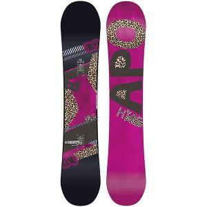 Сноуборд женский  Hype Rocker 147 Black/Pink Apo. Цвет: черный,розовый