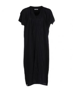 Платье до колена JUST IN CASE. Цвет: темно-синий