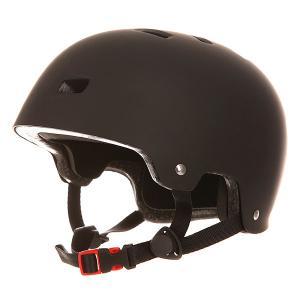 Шлем для скейтборда  Deluxe Helmet Matte Black Bullet. Цвет: черный