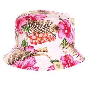 Панама  Utopia Bucket Hat Pink TrueSpin. Цвет: белый,розовый