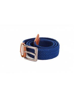 Ремень эластичный мультиразмерный темно-синий BRADEX. Цвет: синий