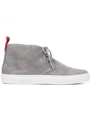 Ботинки на шнуровке Del Toro Shoes. Цвет: серый