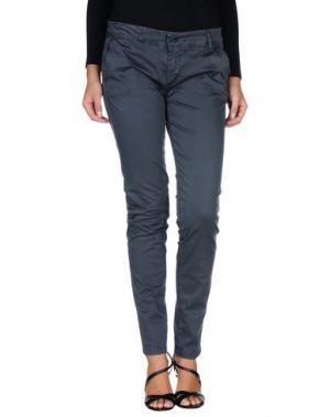 Повседневные брюки CHILI PEPPERS. Цвет: свинцово-серый