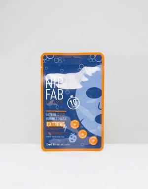 Nip+Fab Маска для лица Glycolic Fix Extreme Bubble. Цвет: бесцветный