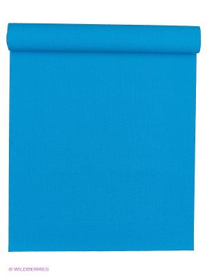 Коврик для йоги Сита разной длины 60х3мм (1,2 кг, 185 см, 3 мм, голубой, 60см) RamaYoga. Цвет: голубой