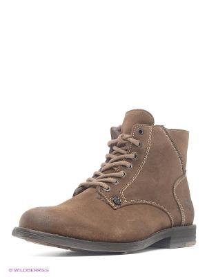 Ботинки El Tempo. Цвет: темно-серый
