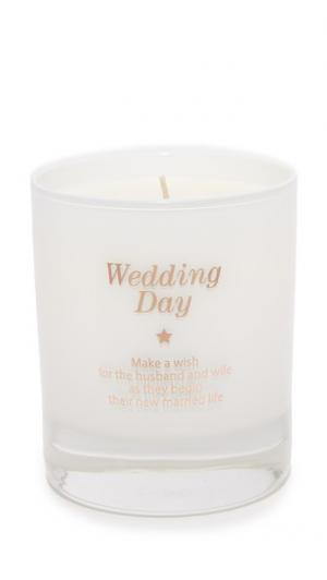 Свеча Make a Wish for the Bride & Groom Gift Boutique