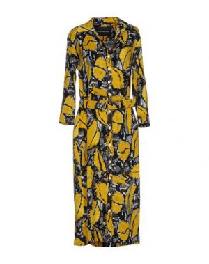 Платье длиной 3/4 SAMANTHA SUNG. Цвет: желтый