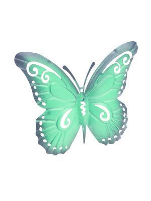Настенный декор Butterfly Gardman. Цвет: розовый, бирюзовый
