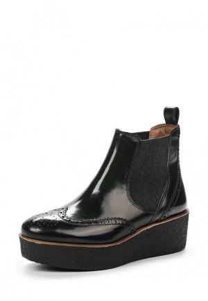 Ботинки Tervolina. Цвет: зеленый