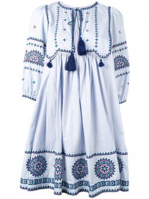 Платье Sindhi Talitha. Цвет: синий
