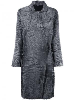 Пальто из каракуля 32 Paradis Sprung Frères. Цвет: серый