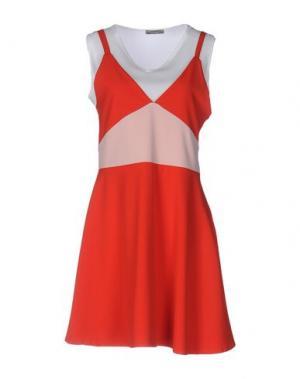 Короткое платье DIXIE. Цвет: красный