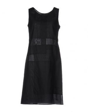 Платье до колена CIVIDINI. Цвет: черный