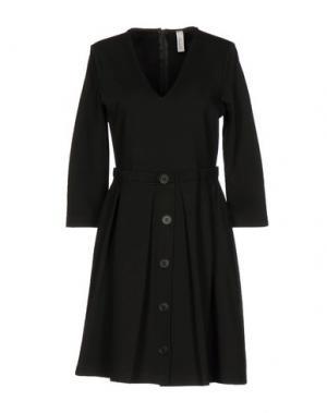 Короткое платье SOUVENIR. Цвет: темно-зеленый