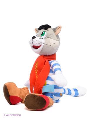 Мягкая игрушка Кот Матроскин Мульти-пульти. Цвет: синий, серый