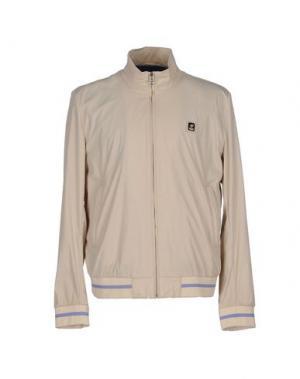 Куртка PIERO GUIDI. Цвет: бежевый