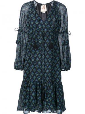 Платье Nicola Figue. Цвет: синий