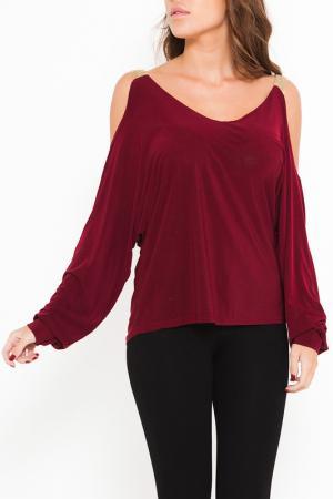 Блуза SHES SECRET SHE'S. Цвет: красный