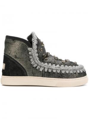 Декорированные ботинки Eski Mou. Цвет: чёрный