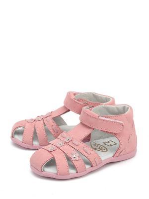 Босоножки PAVLE. Цвет: розовый