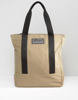 Heist Холщовая сумка-тоут. Цвет: рыжий