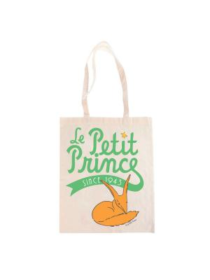 Эко-сумка Маленький Принц Le Petit Prince. Цвет: бежевый