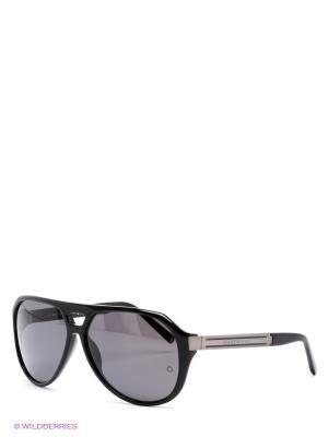 Солнцезащитные очки Montblanc. Цвет: черный, серый