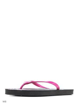 Шлепанцы Modis. Цвет: черный, бирюзовый, розовый