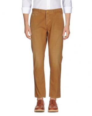 Повседневные брюки ZERO. Цвет: верблюжий