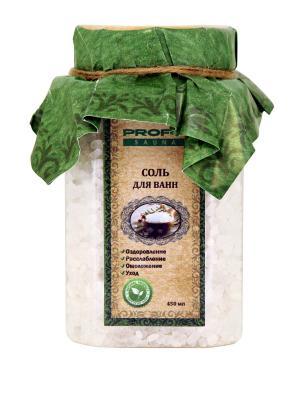 Соль для ванн , 450 мл. PROFFI. Цвет: белый