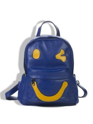 Рюкзак AnnA Wolf. Цвет: синий, желтый