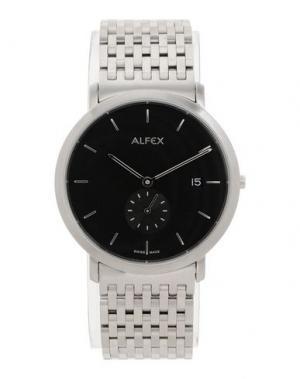 Наручные часы ALFEX. Цвет: черный